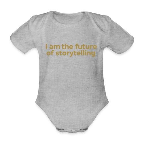 future-of-storytelling-ce - Baby bio-rompertje met korte mouwen