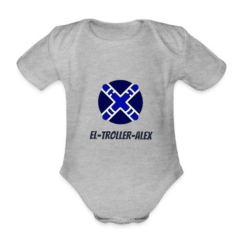 DISEÑO EL TROLLER ALEX EVO - Body orgánico de manga corta para bebé