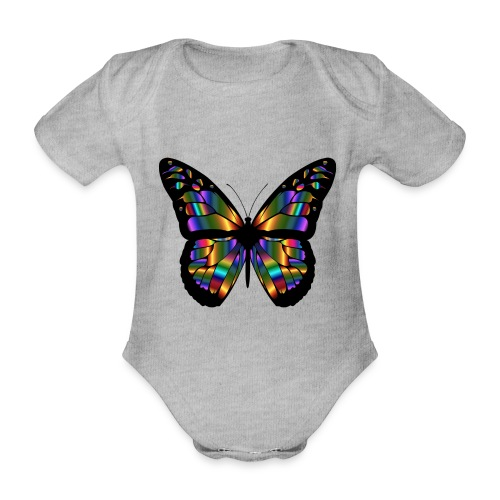 papillon design - Body Bébé bio manches courtes