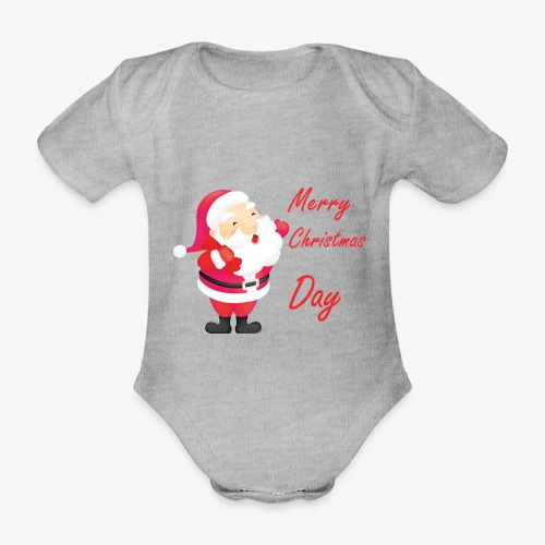 Merry Christmas Day Collections - Body Bébé bio manches courtes