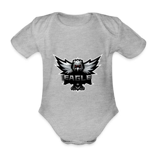 Eagle merch - Kortærmet babybody, økologisk bomuld