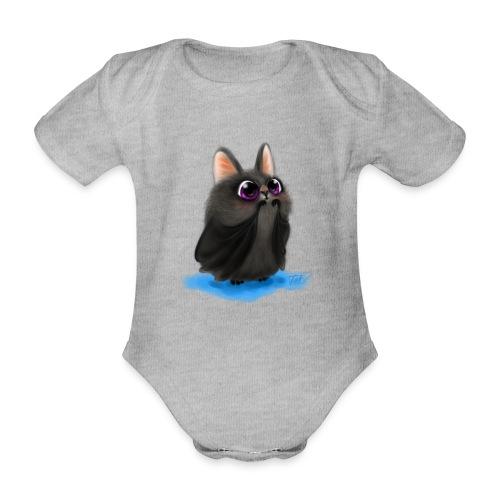 Kleine süsse Fledermaus - Baby Bio-Kurzarm-Body