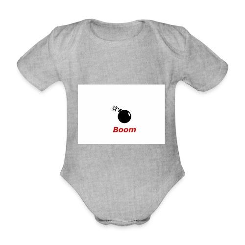Bomba - Ekologiczne body niemowlęce z krótkim rękawem