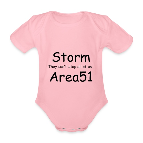 Storm Area 51 - Organic Short-sleeved Baby Bodysuit