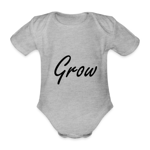 Grow - Baby Bio-Kurzarm-Body