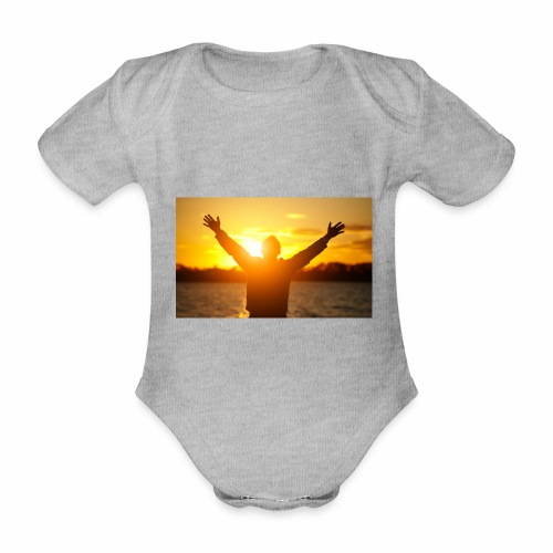Camiseta Libre - Body orgánico de manga corta para bebé