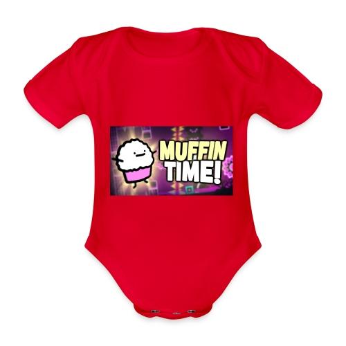 Its Muffin Time 2 - Baby Bio-Kurzarm-Body