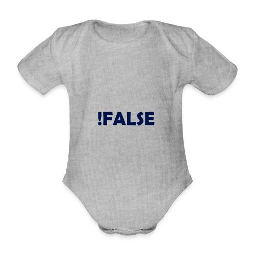 !False - Baby Bio-Kurzarm-Body