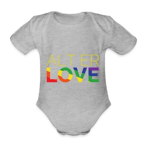 Alt er Love | SKAM | LGBT | Pride - Baby Bio-Kurzarm-Body