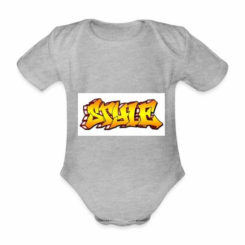 Camiseta estilo - Body orgánico de manga corta para bebé