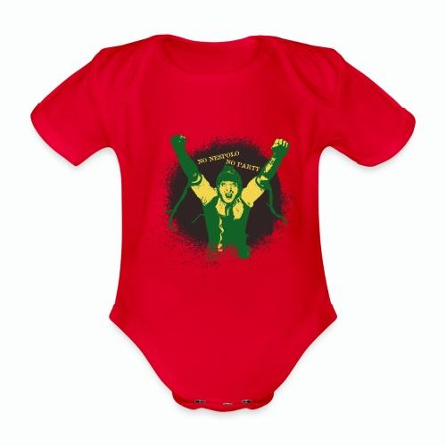 No Nespolo No Party - Body ecologico per neonato a manica corta