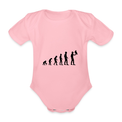 Evolution Falkner - Baby Bio-Kurzarm-Body