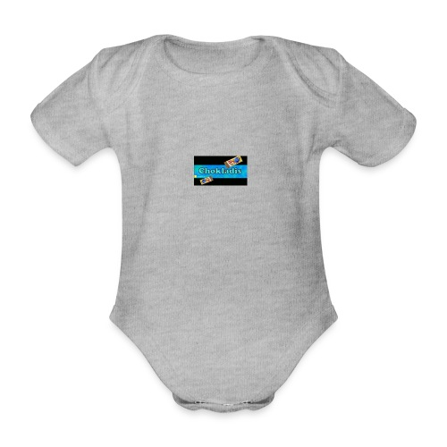 Chokladis Barn T-Shirt - Ekologisk kortärmad babybody