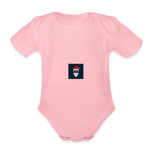 Trap Navideño - Body orgánico de maga corta para bebé