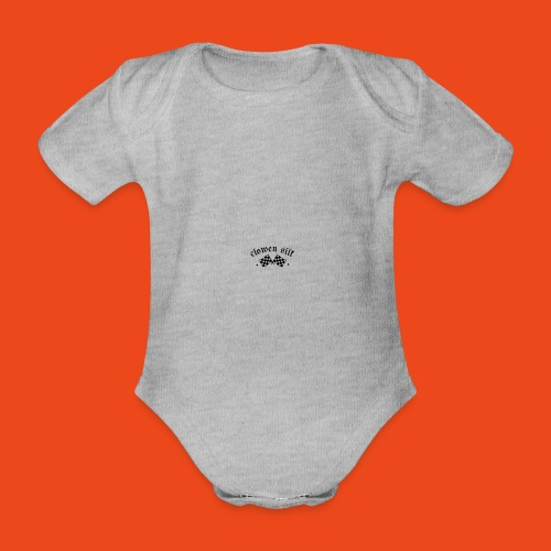 Camiseta Baseball unisex - Body orgánico de manga corta para bebé