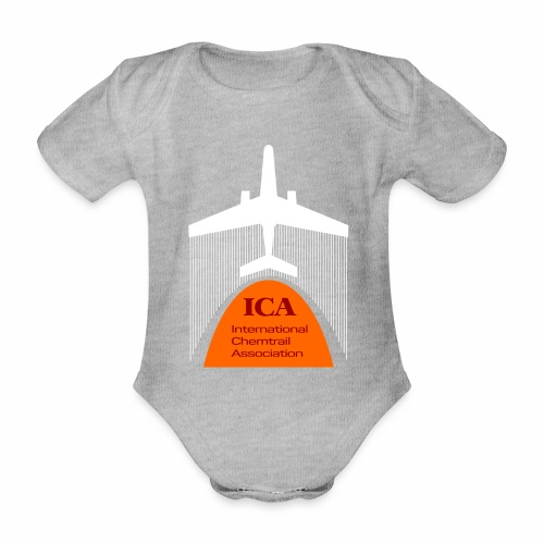 International Chemtrail Association - Baby Bio-Kurzarm-Body