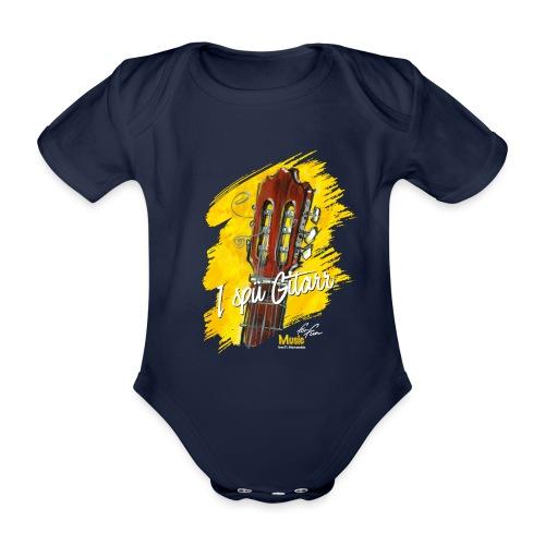 I spü Gitarr - limited edition '19 - Baby Bio-Kurzarm-Body