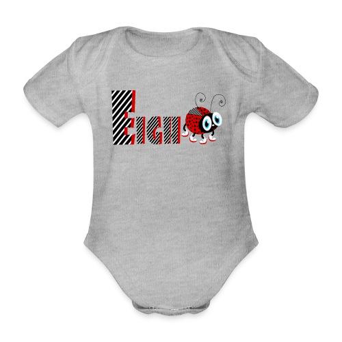 8. Jahr-Familien-Marienkäfer-T-Shirts Geschenk-Tochter - Baby Bio-Kurzarm-Body