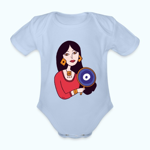 Fashion Girl - Organic Short-sleeved Baby Bodysuit