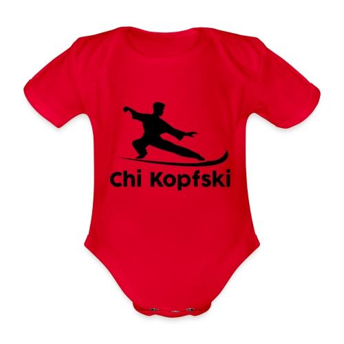 chi kopfski - Baby Bio-Kurzarm-Body