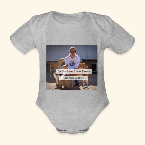 en un mundo de perros con borja capponi - Body orgánico de maga corta para bebé