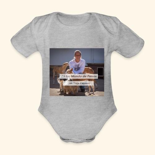 en un mundo de perros con borja capponi - Body orgánico de manga corta para bebé