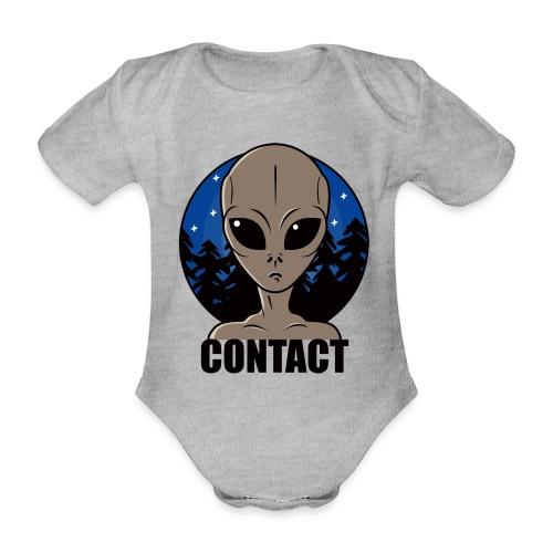 Contact Extraterrestre - Body Bébé bio manches courtes