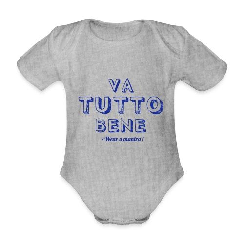 VA TUTTO BENE - Body ecologico per neonato a manica corta