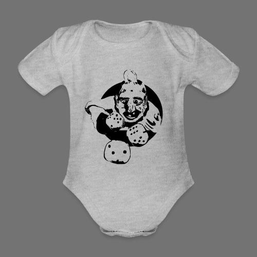 Professional Gambler (1c musta) - Vauvan lyhythihainen luomu-body