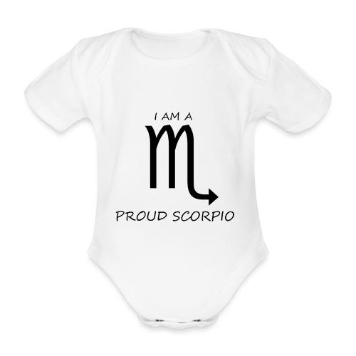 SCORPIO - Organic Short-sleeved Baby Bodysuit