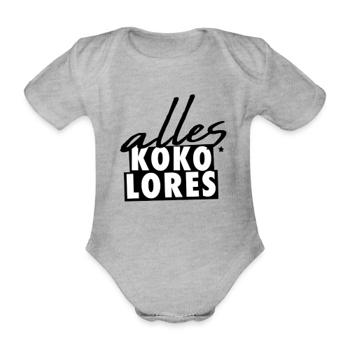 ALLES KOKOLORES - Baby Bio-Kurzarm-Body