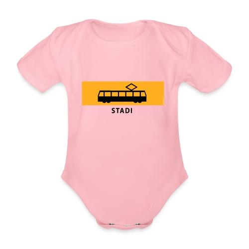 RATIKKA PYSÄKKI KYLTTI STADI T-paidat ja vaatteet - Vauvan lyhythihainen luomu-body