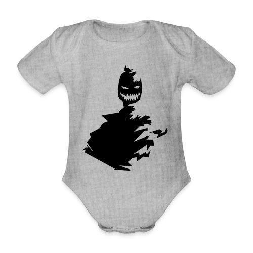t shirt monster (black/schwarz) - Baby Bio-Kurzarm-Body
