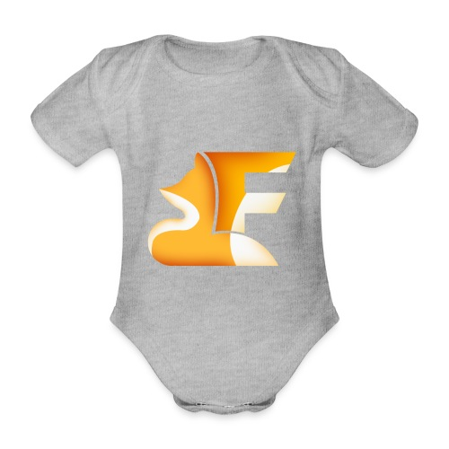 FoxChannel LOGO - Body ecologico per neonato a manica corta