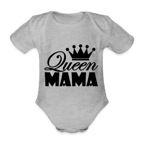 queenmama - Baby Bio-Kurzarm-Body