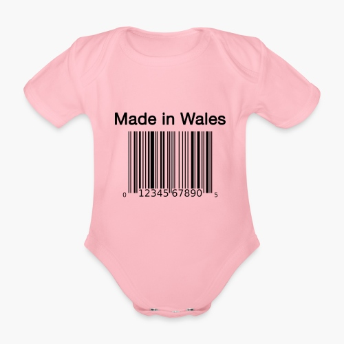 Made in Wales - Organic Short-sleeved Baby Bodysuit