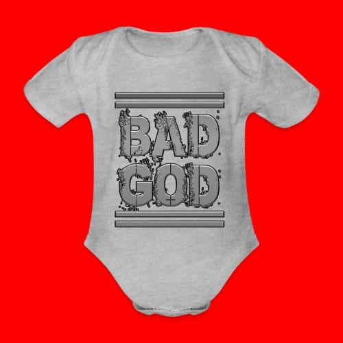 BadGod - Organic Short-sleeved Baby Bodysuit