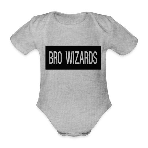 Browizardshoodie - Organic Short-sleeved Baby Bodysuit