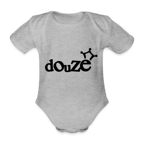 logo_douze - Body Bébé bio manches courtes