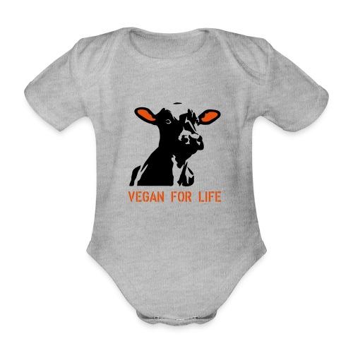 colorida vegan for life - Baby Bio-Kurzarm-Body