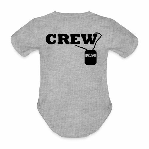 KON - Crew - Baby Bio-Kurzarm-Body