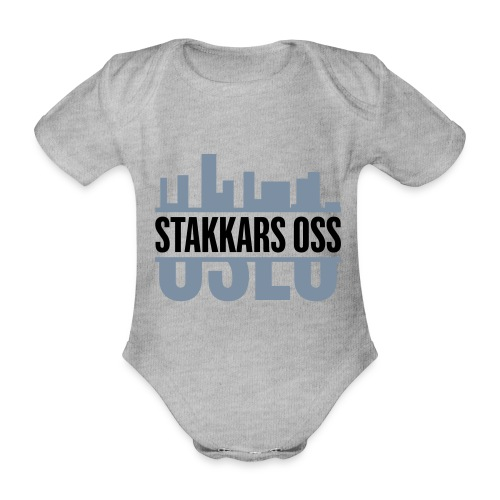 stakkars oss logo 2 ny - Økologisk kortermet baby-body