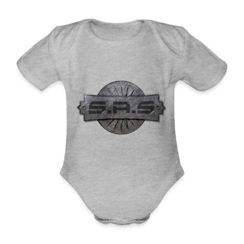 S.A.S. tshirt men - Baby bio-rompertje met korte mouwen