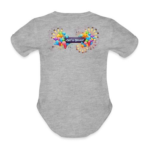 Spirit is Present - Body ecologico per neonato a manica corta