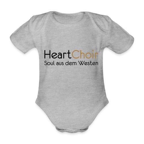 heartchoir schritzug ohne website - Baby Bio-Kurzarm-Body