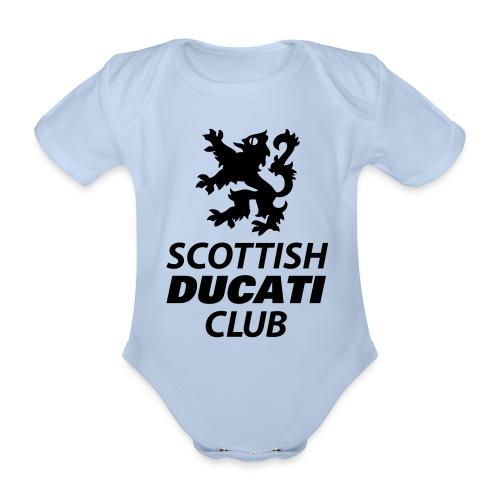 polo pocket 2 - Organic Short-sleeved Baby Bodysuit