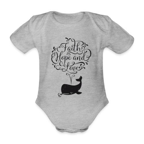 design wal copy - Baby Bio-Kurzarm-Body