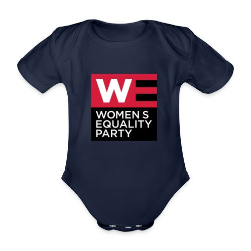 WE_LOGO_RED_CMYK - Organic Short-sleeved Baby Bodysuit