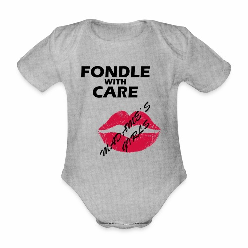 Fondle with Care - Organic Short-sleeved Baby Bodysuit