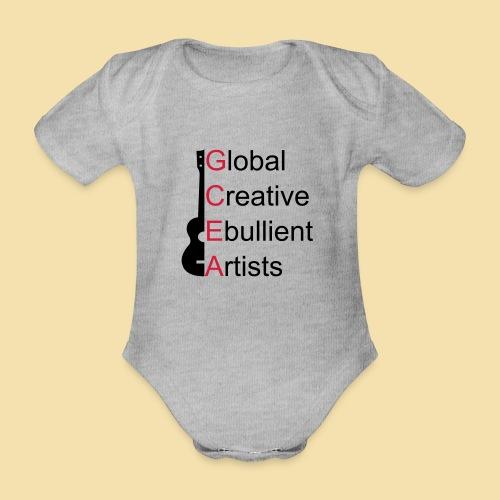 GCEA Global Creative Ebullient Artists - Baby Bio-Kurzarm-Body